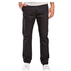 2018 New Fashion Brand Men's Pants Slim Solid Color Elasticity Men Casualmodkily-modkily