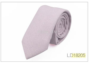 Fashion Solid ties for Men Casual Narrow Neckties Skinny Mens Neck Tiesmodkily-modkily
