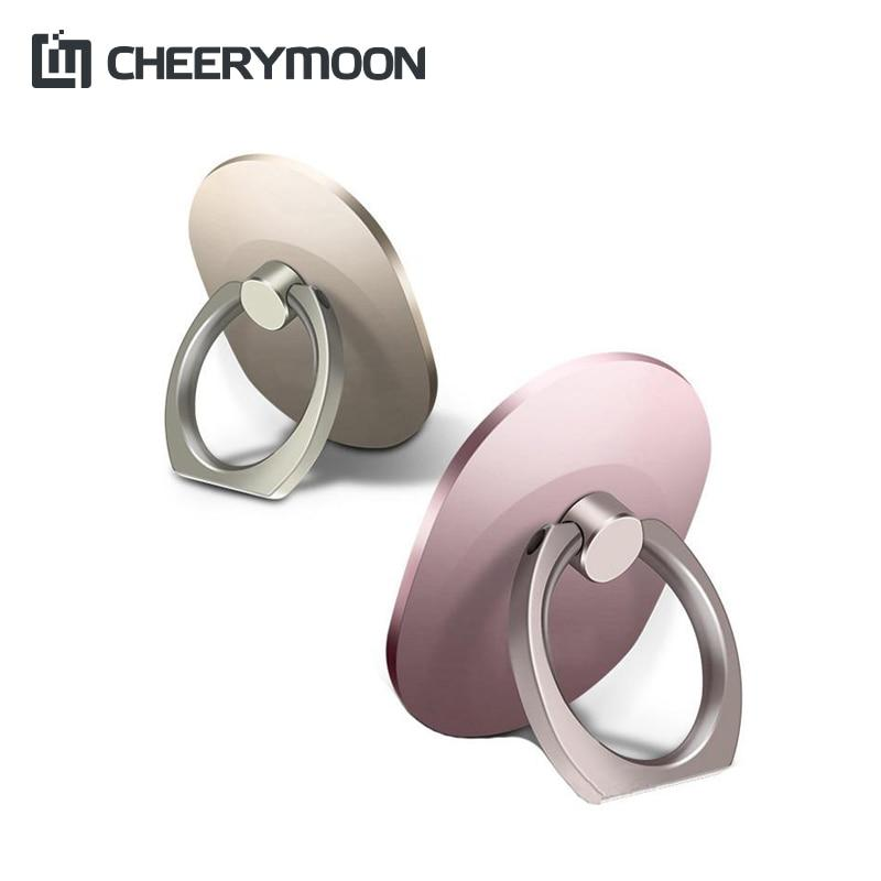 CHEERYMOON Q1 Oval Holder Universal Mobile Phone Ring IRE Metal Stand Fingermodkily-modkily