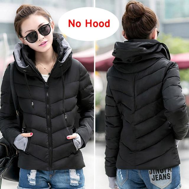 2018 new ladies fashion coat winter jacket women outerwear short wadded jacketmodkily-modkily