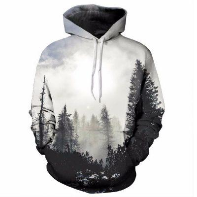 Drop shipping 2018 new Fashion Hoodies Hot 3d Hoody Food Printmodkily-modkily