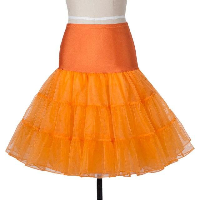 Enyuever Adult Tutu Skirt Shorts Vintage Retro Swing Pin Up Crinoline Juponmodkily-modkily