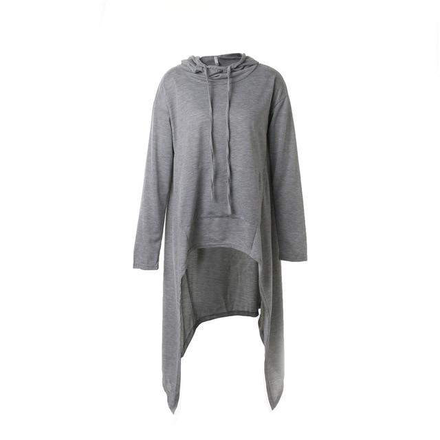 Hot Dropship Warm Women Long Sleeve O-Neck Hooded Cotton Hoodie 5 Colorsmodkily-modkily