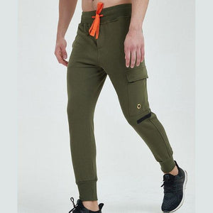Men's 2018 new men's casual pants leisure pants pants tethered pantsmodkily-modkily