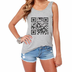 2017 Summer Women Sleeveless Round Neck Tops Shirt Gray White Fashionmodkily-modkily