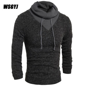 Sweater Pullover Men 2017 New Male Brand Casual Slim Sweaters Men Solidmodkily-modkily