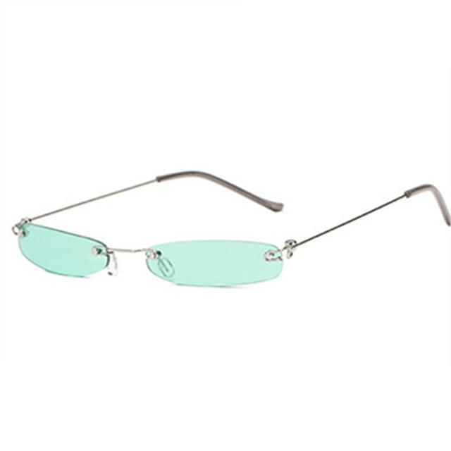 YOOSKE Vintage Sunglasses Women Small Narrow Sun Glasses Retro Rectangle Brandmodkily-modkily