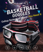 Sports Safety Goggles Protection Glasses Basketball Soccer Optical Eyeglasses Eye Glassesmodkily-modkily