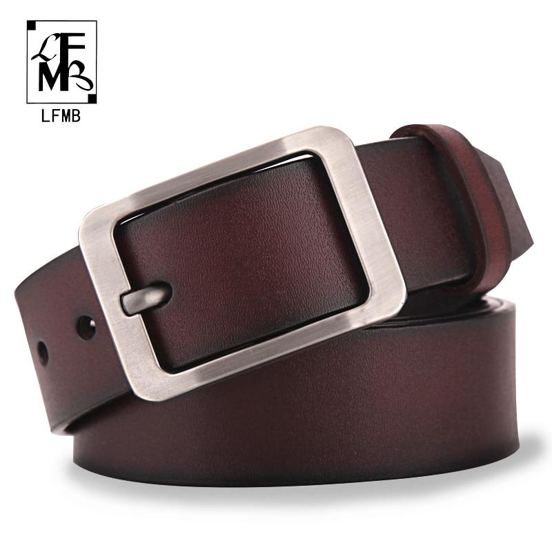 []leather belt men male genuine leather strap male belt cowskin men's beltsmodkily-modkily