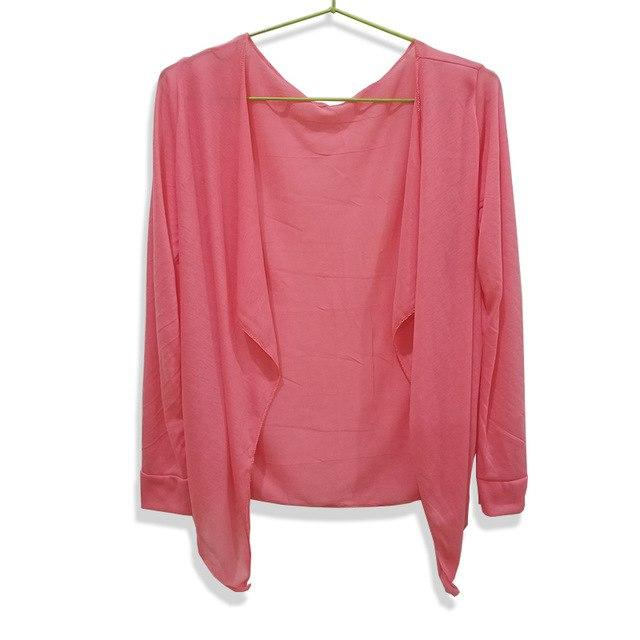 Sale Fashion Women summer Autumn Candy Colors Sun Protection Casual Cardigans Airmodkily-modkily