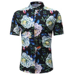 2018 summer New Arrival Mens Hawaiian Shirt Male Casual pineapple Camisamodkily-modkily