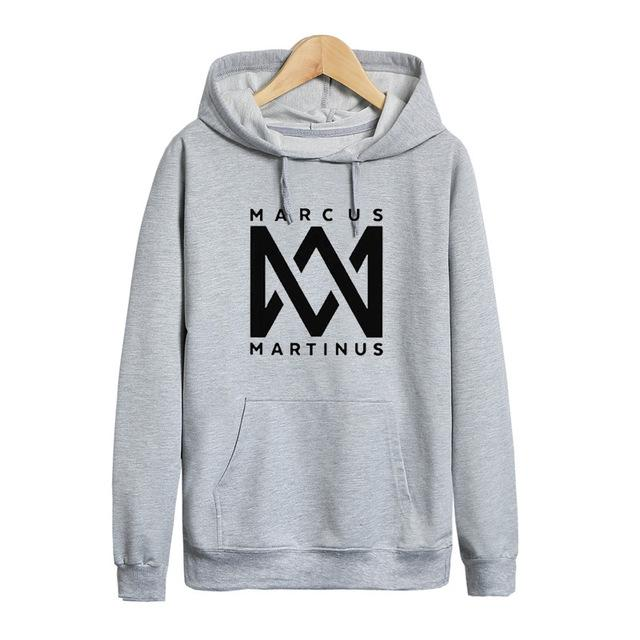 Pkorli Marcus And Martinus Hoodies Men Women Hip Hop Dj Sweatshirt Longmodkily-modkily