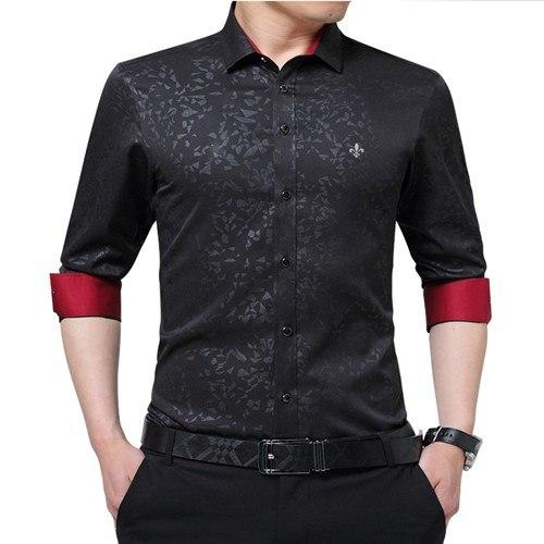 Dudalina New Arrived Brand Clothing Male Shirt Long Sleeve Shirt 2018 Summermodkily-modkily