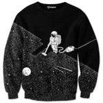 2018 Men 3D Sweatshirts Space Vacuum Cleaner Robot 3D Print Fashionmodkily-modkily