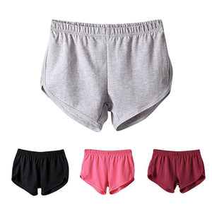 Summer Fashion Loose Soft Shorts Women Elastic Waist Short Beach Shotsmodkily-modkily