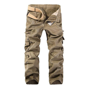 2018 Hot Tactical Mens Cargo Pants Cotton Casual Military Men Pants Solidmodkily-modkily