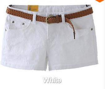 Summer 2018 Denim Shorts Slim Fit Candy Color pantalones cortos mujer Shortmodkily-modkily