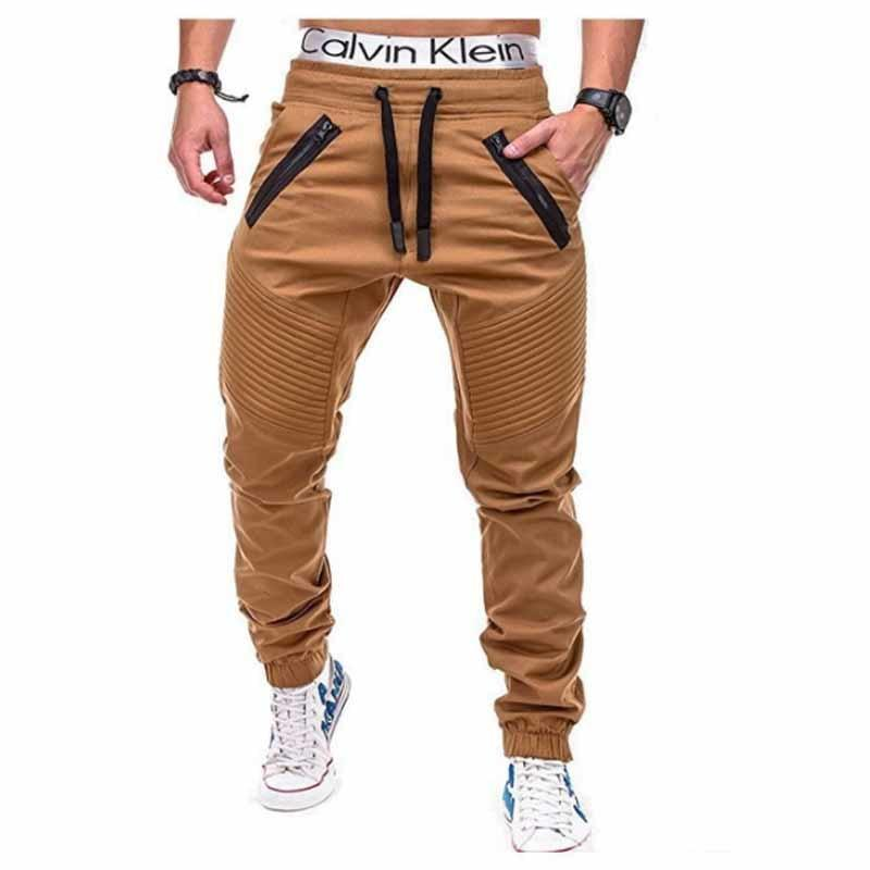 Men Pants 2018 New Fashion Brand Tooling pockets Joggers Pants Male Trousersmodkily-modkily