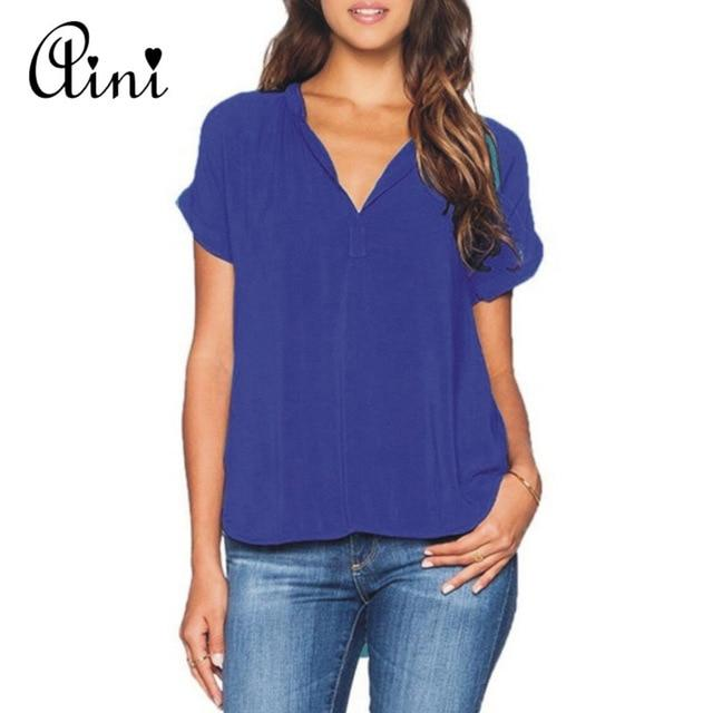 Plus Size 6XL Women Tops and Blouse 2018 Summer Top Ladies Casualmodkily-modkily