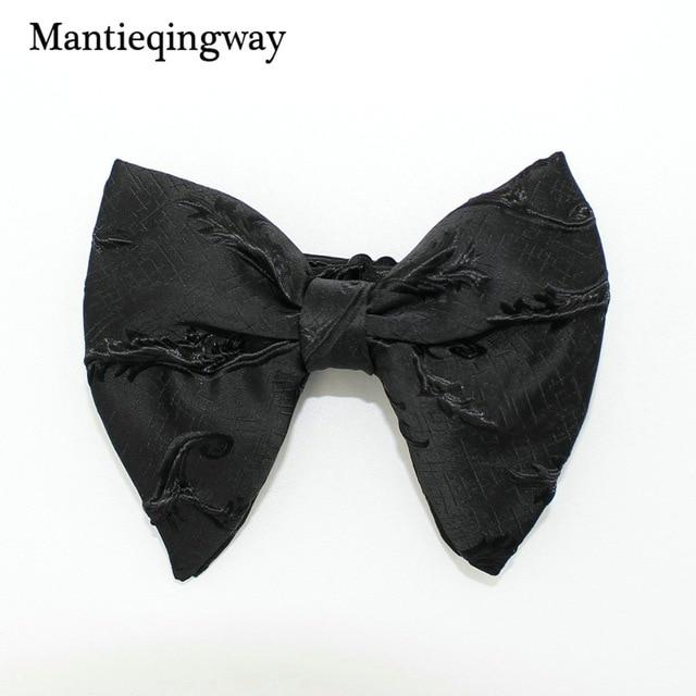 Fashion Big Bowties for Women Mens Groom Wedding Bow Tie Polyestermodkily-modkily
