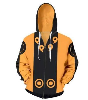 New fashion Cool sweatshirt Hoodies Men women printed 3D Anime Naruto hoodiemodkily-modkily
