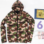 Drop shipping Autumn zipper Casual Camouflage Hoodie military Jacket coat Men Clothesmodkily-modkily