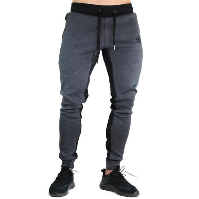 Autumn new Mens Fitness Brand Sweatpants Pant male Bodybuilding drawers Elastic bandmodkily-modkily