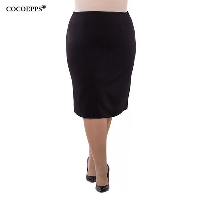 2018 New Fashion Summer Women Skirt High Waist Plus Size bodycon Pencilmodkily-modkily