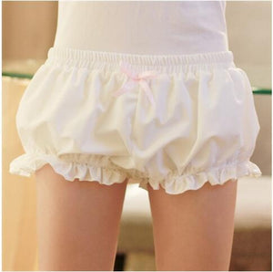 Kawaii women girl lolita Harajuku cute pumpkin soft bud bloomers shorts cosplaymodkily-modkily