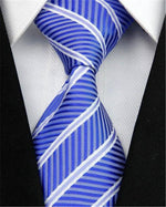 New Jacquard Woven Neckties for Men Striped Business Suite Gravatas Slim Men'smodkily-modkily