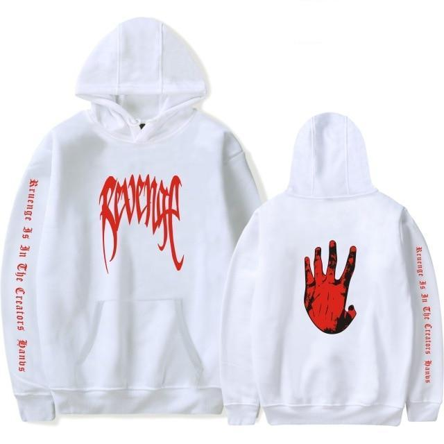 Xxxtentacion Revenge Cool Hoodies Men/Women Hot Sale Sweatshirts Rapper Hip Hopmodkily-modkily