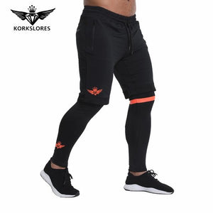 2018 Brand New Gold Medal Fitness Casual Elastic Pants Stretch Cotton Men'smodkily-modkily
