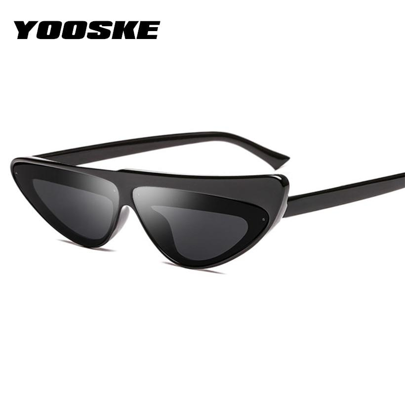 YOOSKE Women Sunglasses Cat Eye Sun Glasses for Ladies Brand Designer Sexymodkily-modkily