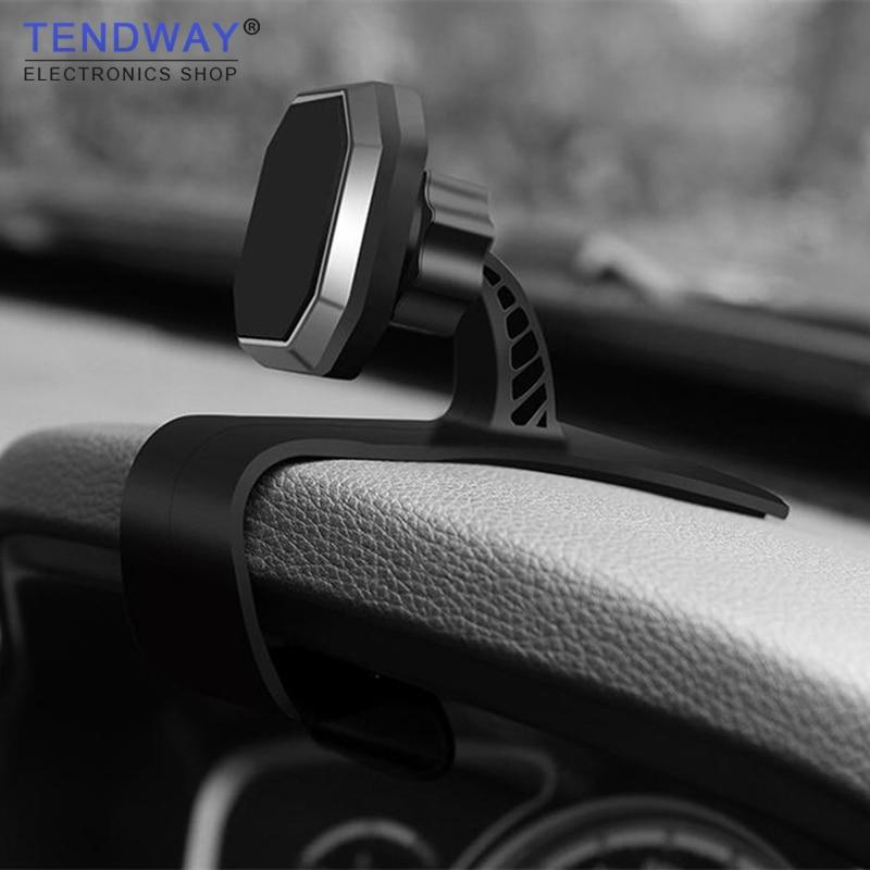 Magnetic Car Phone Holder Dashboard Clip Universal Adjustable Magnet Cellphone Bracketmodkily-modkily