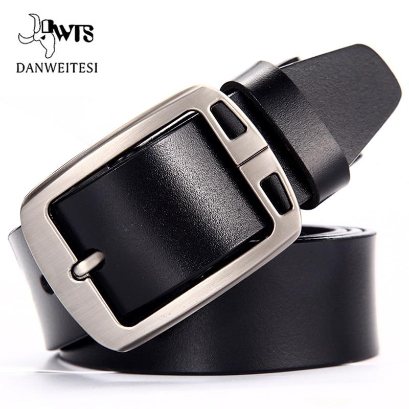 []Cow leather belt men male genuine leather strap belts for men bucklemodkily-modkily