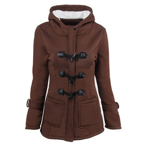 Women Basic Jackets 2018 Brown Causal Coat Autumn Women's Overcoat Zipper Outwearmodkily-modkily