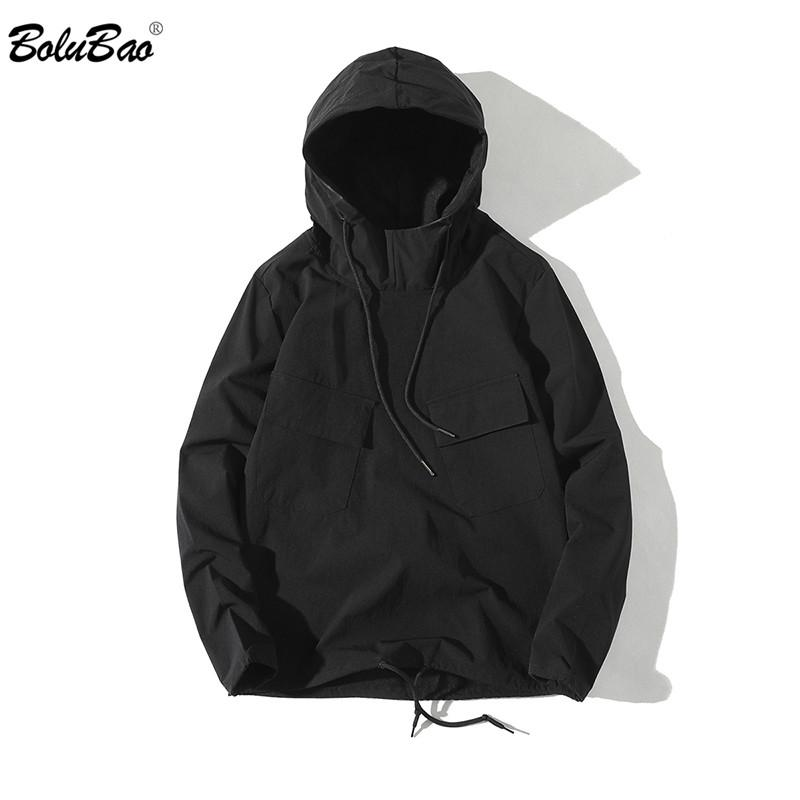BOLUBAO Fashion Male Jackets Solid color Windbreaker Jacket Men Coat Wind Breakermodkily-modkily