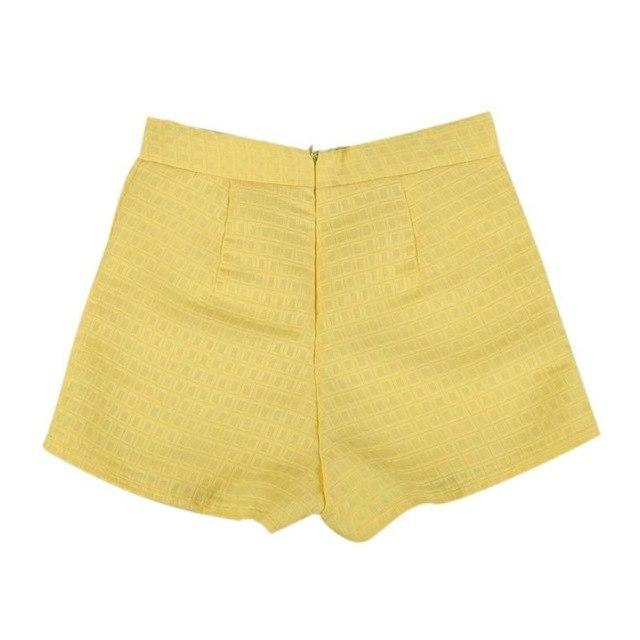 Summer Shorts Women Middle Waist Shorts Personality Female Solid Casualmodkily-modkily