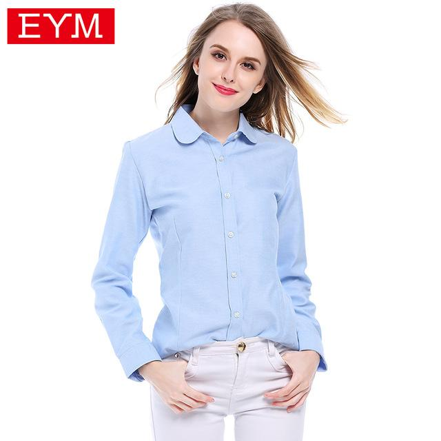 Blouses Shirts 2018 Autumn New Fashion Brand White Shirt Women Longmodkily-modkily