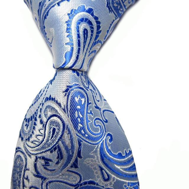 Fashion New Mens Ties Retro Paisley Jacquard Woven Wedding Party Man's Neckmodkily-modkily