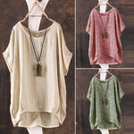 Womens Tops and Blouses Summer Autumn 2018 Plus Size Shirt Female Bigmodkily-modkily