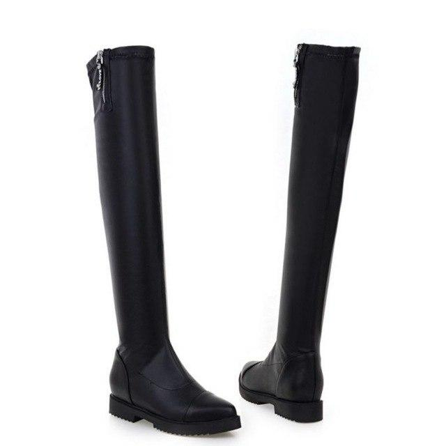 Women Over Knee Boots Ladies Riding Fashion Long Snow Boot Warmmodkily-modkily