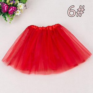 2-7Y Fashion Girl Clothes Tutu Skirt Kids Princess Girls Skirts Lovely Ballmodkily-modkily