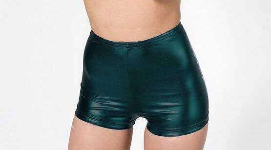 Hot Sale Womens Faux Leather Tight PU Shorts Euramerican Fashion Highmodkily-modkily