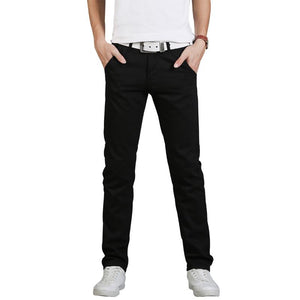 2018 Casual Pants Mens Slim Business Pants Plus Size 28-38 Pants Straightmodkily-modkily