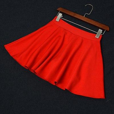 Plus Size 3XL Shorts Skirts Womens 2018 Summer A line Sunmodkily-modkily