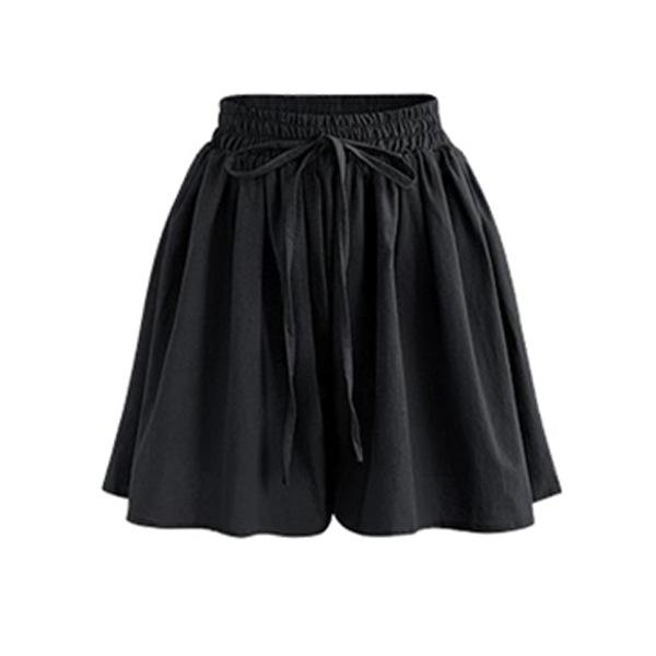 Summer Women Shorts Skirts High Waist Loose Chiffon Shorts Plus Size 6XLmodkily-modkily