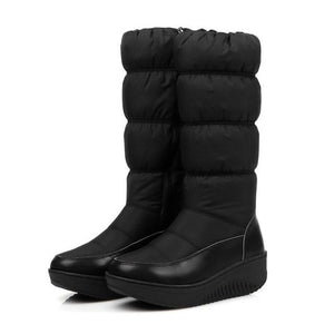 Plus size 35-44 new fashion winter snow boots platform shoes footwearmodkily-modkily