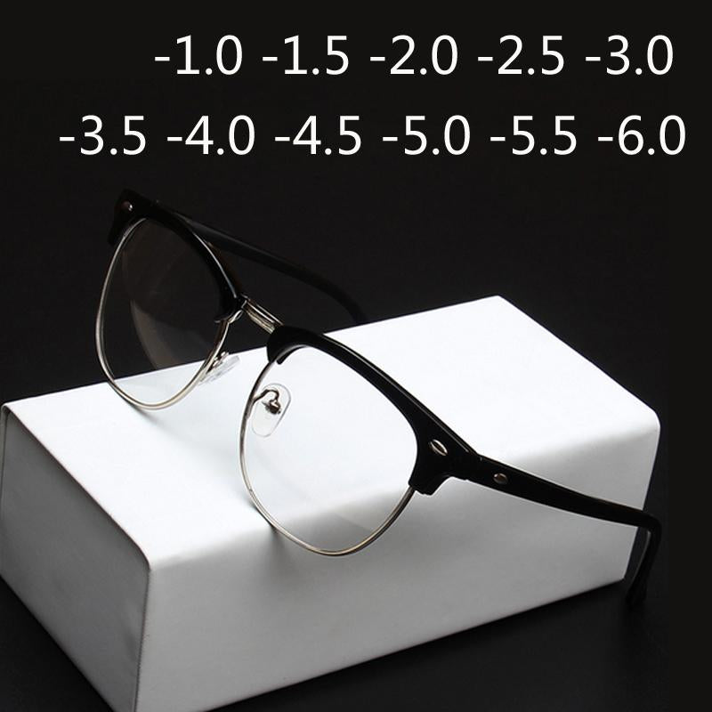 '-1.0 -1.5 -2.0 to -4.0 Radiation Protection Rivet Eyewear Women Half Framemodkily-modkily