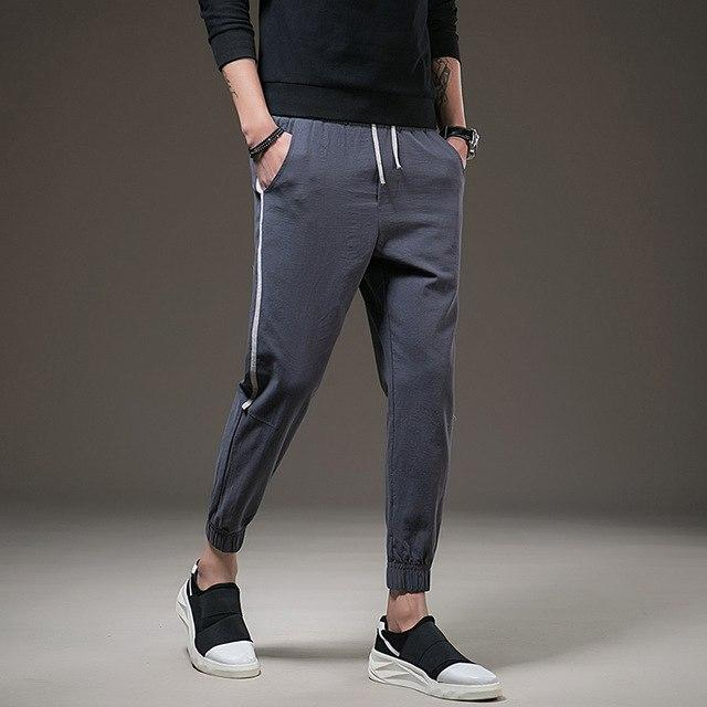 Men's Jogger Pants Man's Sportswear HipHop Sweatpants Casual Bodybuilding Trousers Male Fashionmodkily-modkily